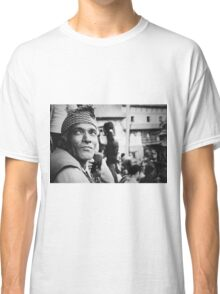 Portrait of a Face in the Crowd Classic T-Shirt