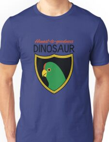 Honest-To-Goodness Dinosaur: Parakeet (on light background) T-Shirt
