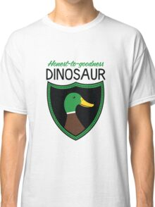 Honest-To-Goodness Dinosaur: Duck (on light background) Classic T-Shirt