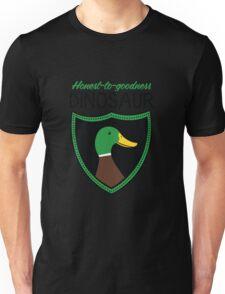 Honest-To-Goodness Dinosaur: Duck (on light background) T-Shirt