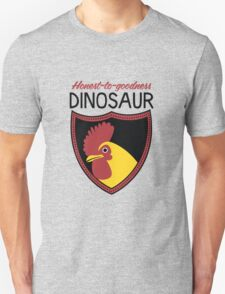 Honest-To-Goodness Dinosaur: Rooster (on light background) T-Shirt