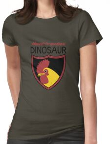 Honest-To-Goodness Dinosaur: Rooster (on light background) T-Shirt