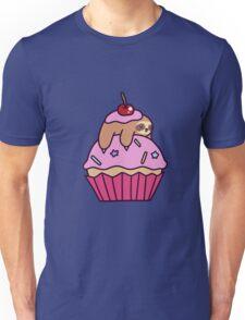 Cupcake Sloth Unisex T-Shirt