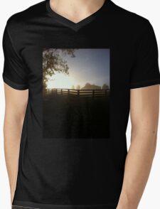 Morning on the Farm Mens V-Neck T-Shirt