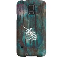 Blue spheres and tears V Samsung Galaxy Case/Skin