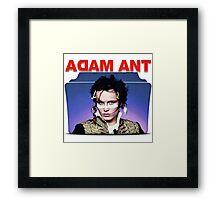 Adam Ant Folder Framed Print