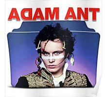 Adam Ant Folder Poster