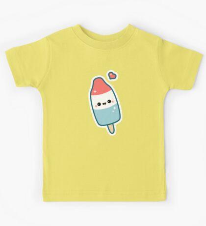 Kawaii Popsicle Kids Tee