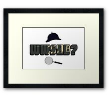 WWSHD Framed Print