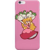 Princess Peach with Turnips iPhone Case/Skin
