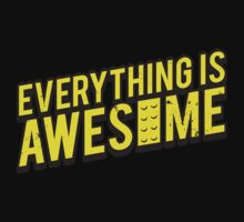 Everything is Awesome (aged look) Kids Tee