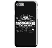 Programmer is my favorite iPhone Case/Skin