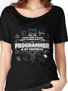 Programmer is my favorite Women's Relaxed Fit T-Shirt