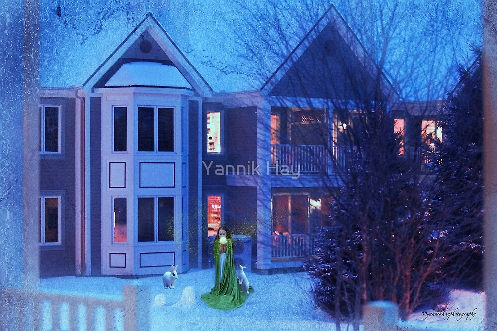Magical Night at Mont Tremblant by Yannik Hay
