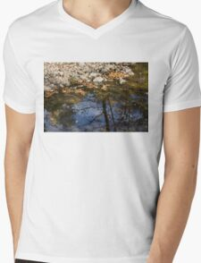 Water, Leaves, Stones and Branches Mens V-Neck T-Shirt