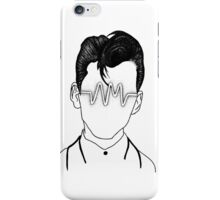 Arctic Monkeys, Alex Turner Graphc Portrait with AM logo - Dotowork  iPhone Case/Skin