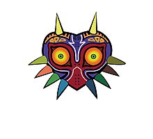 Zelda Majoras Mask Photographic Print