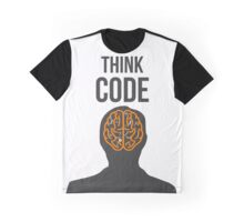 Think Code Graphic T-Shirt