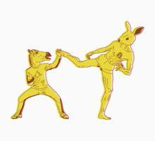 Horse-Dude Versus Kick-Bunny One Piece - Long Sleeve