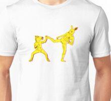 Horse-Dude Versus Kick-Bunny Unisex T-Shirt