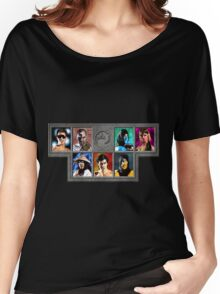 Mortal Kombat Character Select Women's Relaxed Fit T-Shirt