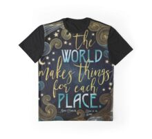 Rebel Of The Sands - For Each Place Graphic T-Shirt