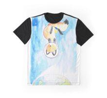 Space Fox Graphic T-Shirt