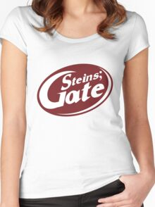 Steins;Gate - an intellectual beverage  Women's Fitted Scoop T-Shirt
