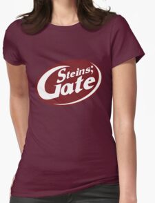 Steins;Gate - an intellectual beverage  Womens Fitted T-Shirt