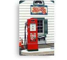 Route 66 - Illinois Vintage Pump Canvas Print