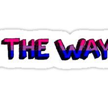 Bi the way ...  Sticker