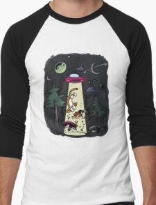 Calvin & Hobbes Men's Baseball ¾ T-Shirt