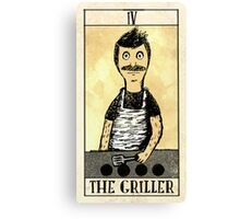 The Griller Canvas Print