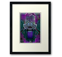 Mr Toad's New Job by Topher Adam Framed Print