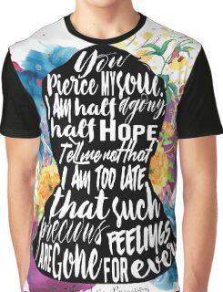 Jane Austen - Persuasion Graphic T-Shirt