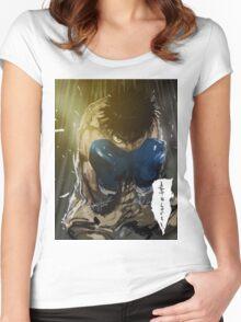 manga, anime -hajime no ippo- Women's Fitted Scoop T-Shirt