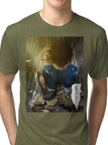 manga, anime -hajime no ippo- Tri-blend T-Shirt