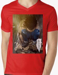 manga, anime -hajime no ippo- Mens V-Neck T-Shirt