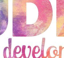 IUDM Riley Development Sticker Sticker