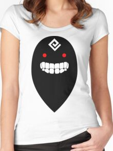 Black Spirit (Black Desert Online) Women's Fitted Scoop T-Shirt