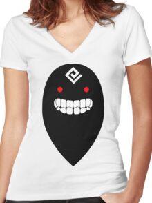 Black Spirit (Black Desert Online) Women's Fitted V-Neck T-Shirt