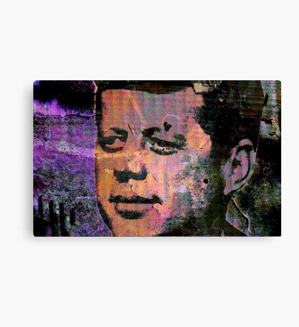 JFK-5 Canvas Print