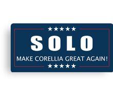 Han Solo 2016 Canvas Print