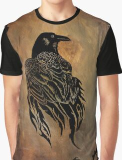 Clockwork Raven Graphic T-Shirt