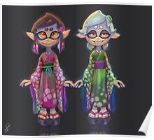 Young Squid Sisters Poster