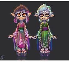 Young Squid Sisters Photographic Print