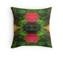 Ivy Fence. Throw Pillow