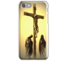 Women At The Cross iPhone Case/Skin