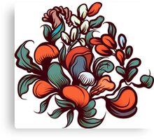 Floral composition. Canvas Print