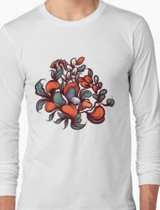 Floral composition. Long Sleeve T-Shirt